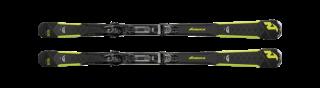 Nordica GT 76 CA FDT + TP COMPACT 10 FDT black/lime 18/19