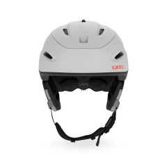 GIRO Zone MIPS Mat Light Grey/Vermillion